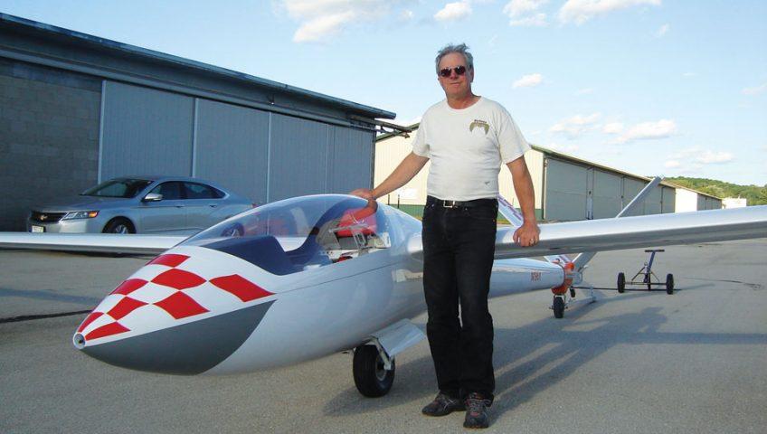 Restoring: Twinjet Sailplane